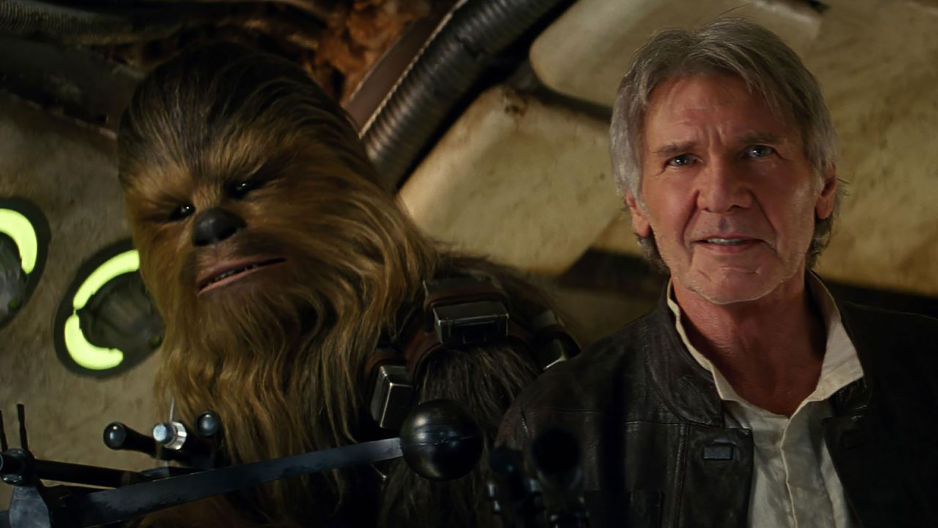 The Force Awakens - Chewie and Han