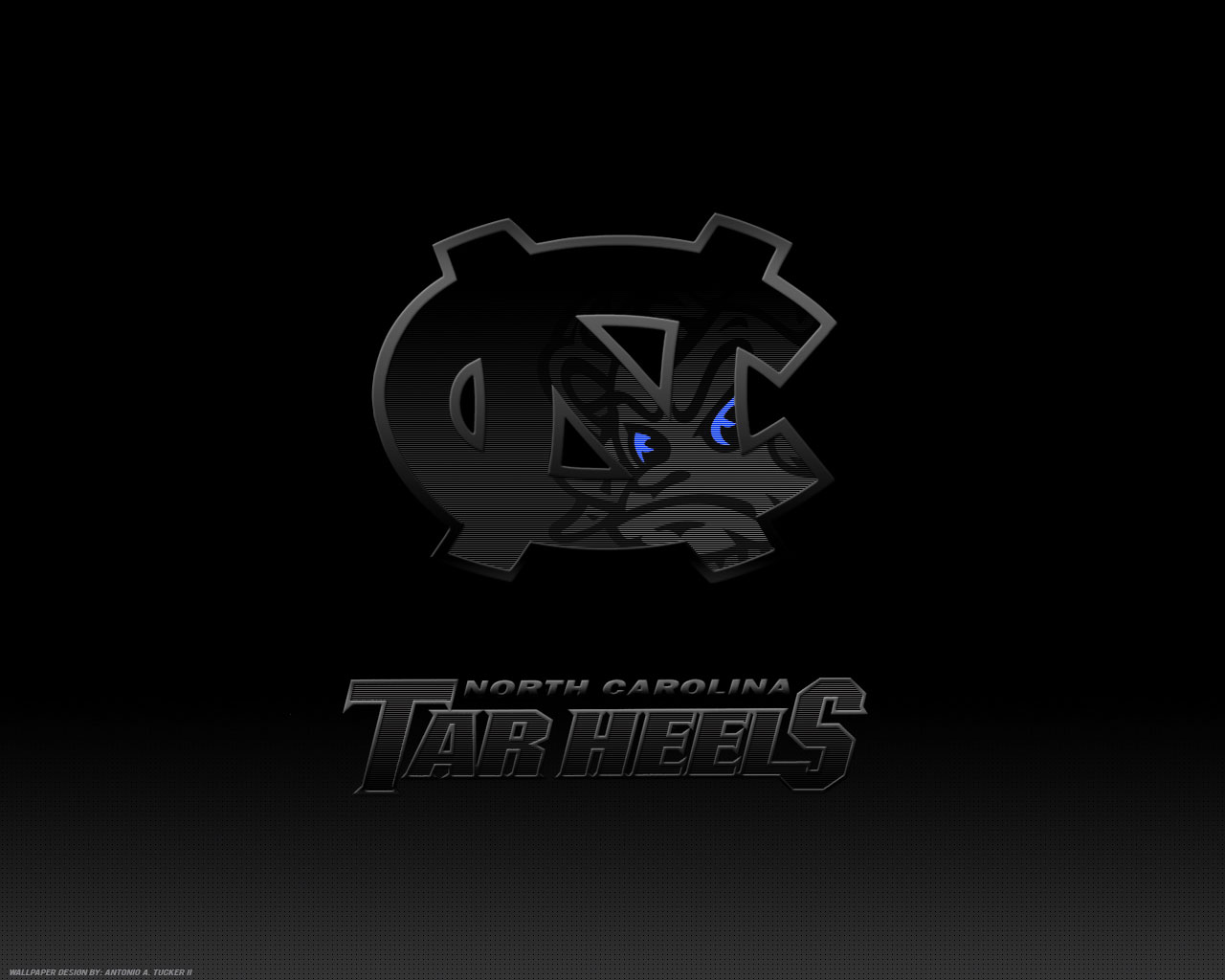 UNC Tar Heels Logo background wallpaper for desktop or web site ...